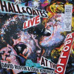 Daryl Hall & John Oates With David Ruffin & Eddie Kendrick ‎– Live At The Apollo