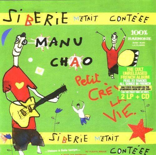 Manu Chao - Siberie M'etait Conteee  With CD