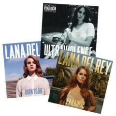 Lana Del Rey - Born to Die, Paradise and Ultraviolence Vinyl Bundle