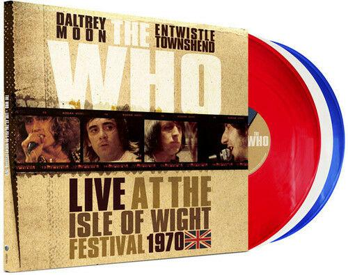 The Who - Live at the Isle of Wight Festival 1970  Gatefold LP Jac