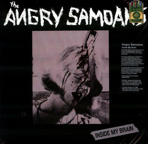 Angry Samoans - Inside My Brain  Colored Vinyl