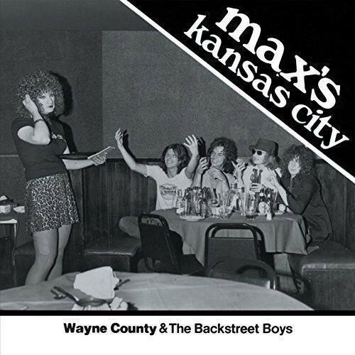 Wayne County / Backs - Max's Kansas City 1976 (7 inch Vinyl)
