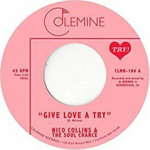 Collins,Nico & Soul Chance - Give Love A Try (7 inch Vinyl)