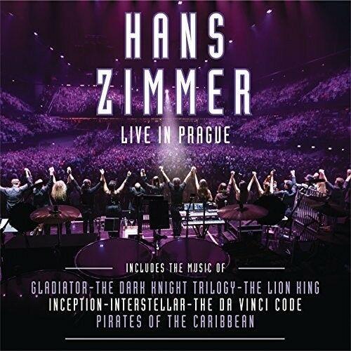 Hans Zimmer - Live In Prague  Oversize Item Spilt