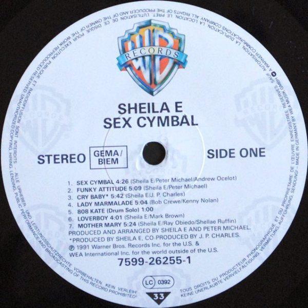 Sheila E – Sex Cymbal