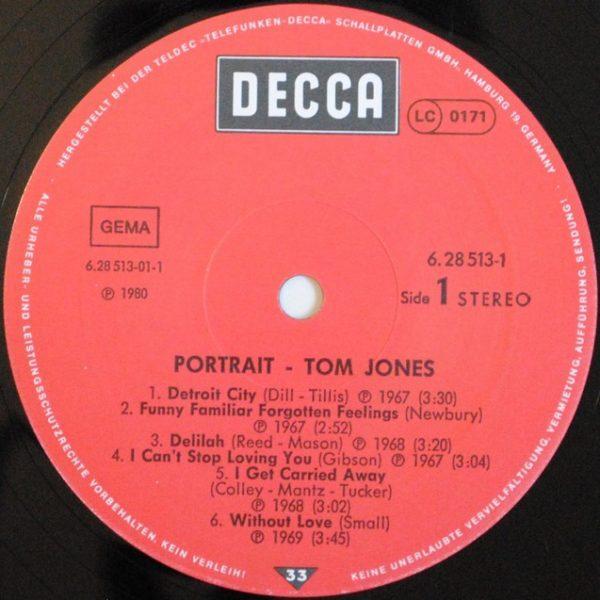 Tom Jones – Portrait