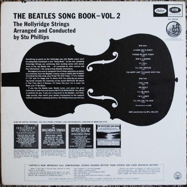 Hollyridge Strings – The Beatles Song Book-Vol 2