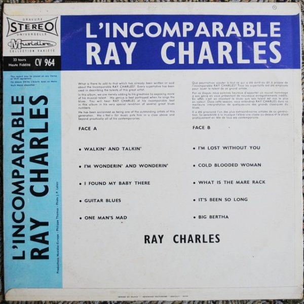 Ray Charles – L'Incomparable