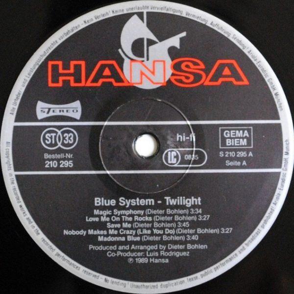 Blue System – Twilight