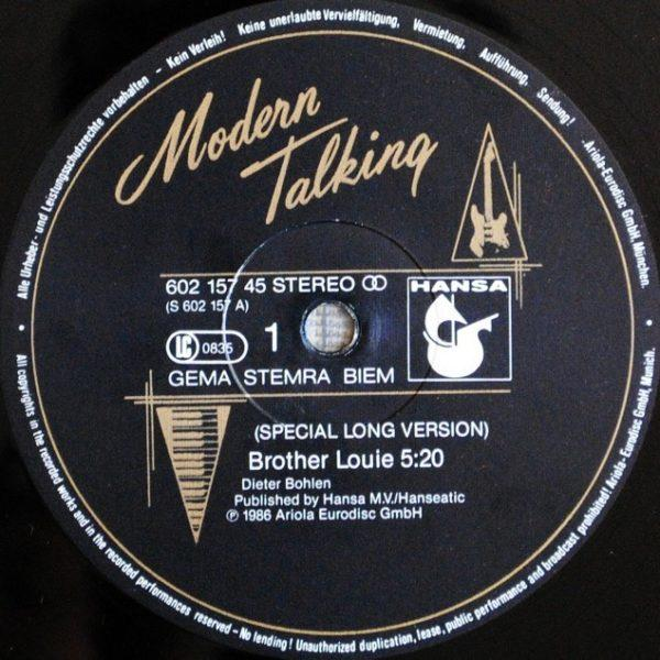 Modern Talking – Brother Louie (Special Long Version)