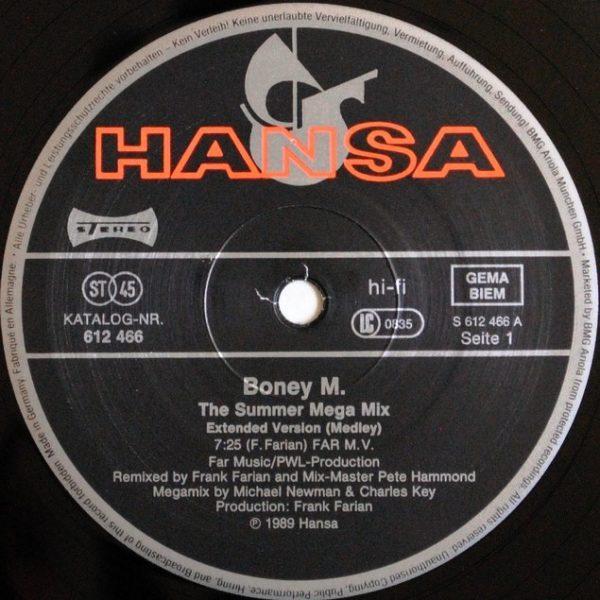 Boney M. – The Summer Mega Mix (PWL Remixes)