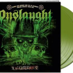 Onslaught - Live At The Slaughterhouse (Green Vinyl)