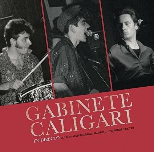 Gabinete Caligari - En Madrid Directo 1984  With CD