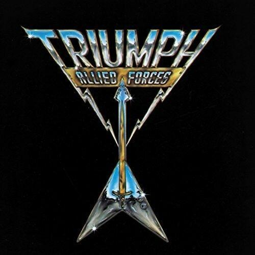 Triumph - Allied Forces  Colored Vinyl, Gold,  Slipsleeve P