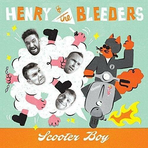 Henry and the Bleeders - Scooter Boy (7 inch Vinyl) Colored Vinyl,  UK -