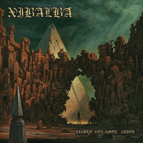 Xibalba - Diablo Con Amor Adios (Blue Vinyl) (7 inch Vinyl) Blue, Colored Vinyl,