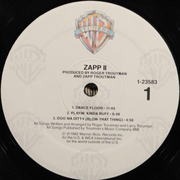 Zapp – Zapp II