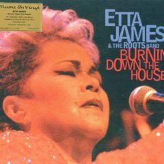 Etta James & The Roots Band ‎– Burnin' Down The House