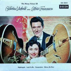 Caterina Valente and Silvio Francesco ‎– The Many Voices Of Caterina Valente And Silvio Francesco