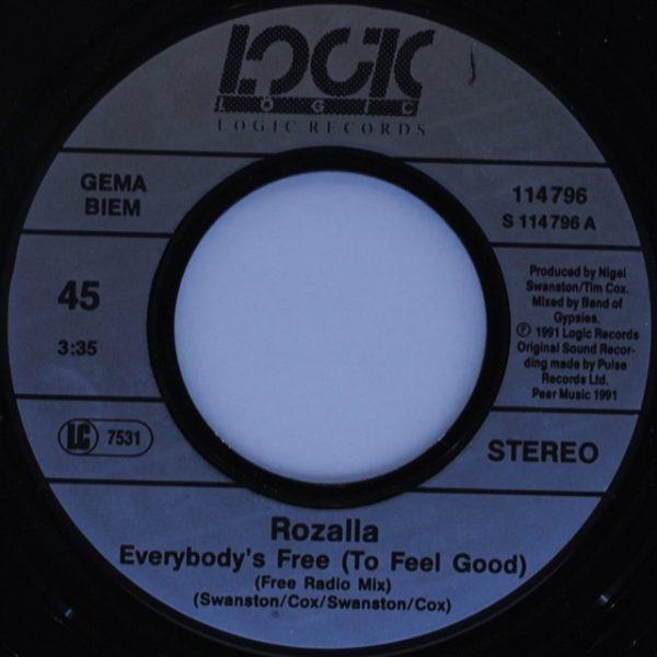Rozalla – Everybody's Free (To Feel Good)
