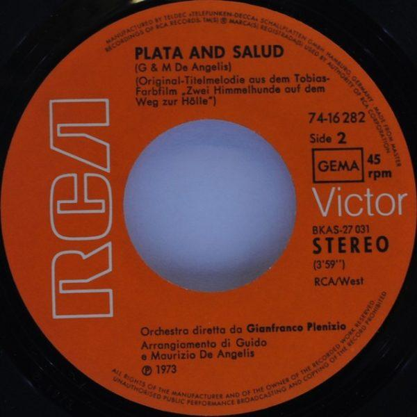 Guido & Maurizio De Angelis – Flying Through The Air / Plata And Salud