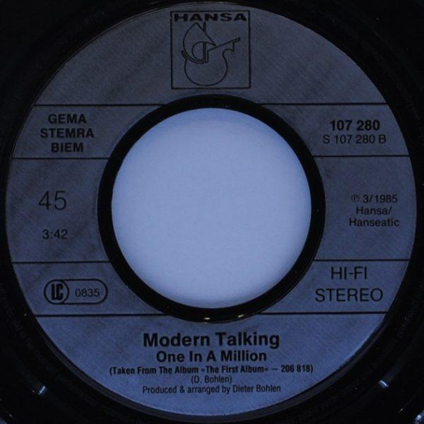 Modern Talking – You Can Win If You Want (Special Single Remix)