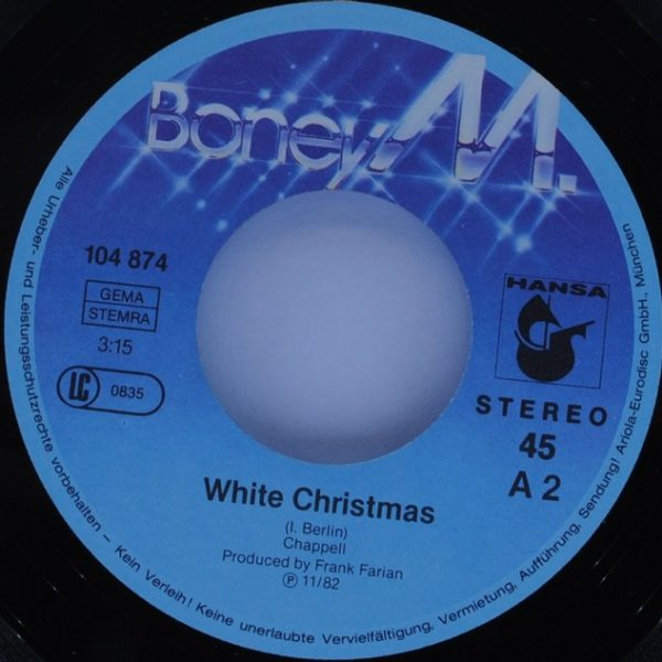 Boney M. ‎– Zion's Daughter / White Christmas