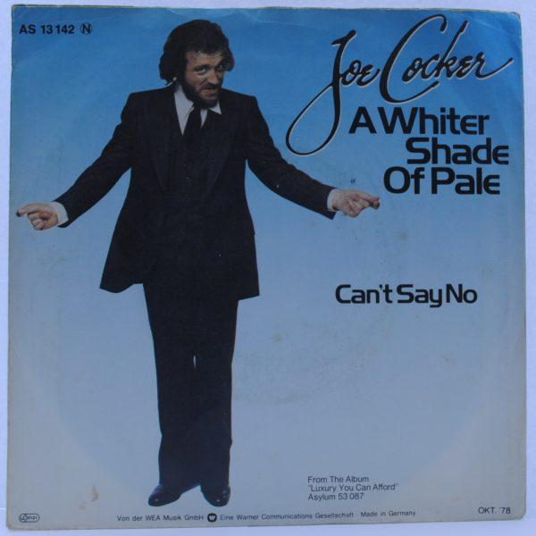 Joe Cocker ‎– A Whiter Shade Of Pale