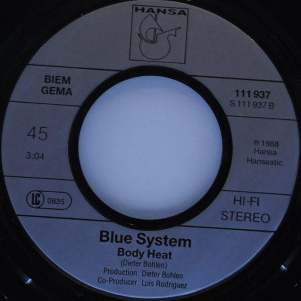 Blue System ‎– Silent Water
