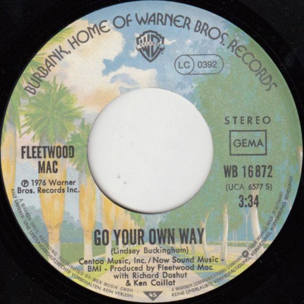 Fleetwood Mac – Go Your Own Way
