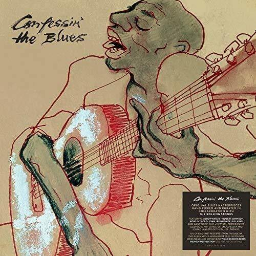 Various Artists - Confessin The Blues / Various Oversize Item Spilt,