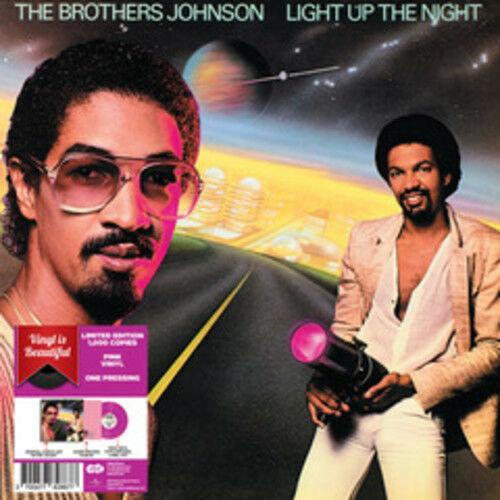 The Brothers Johnson - Light Up The Night (Pink Vinyl) (Limited Edition)