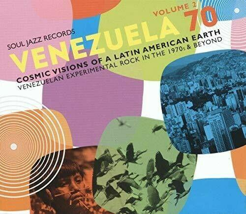 Soul Jazz Records Pr - Venezuela 70 Vol.2 - Cosmic Visions Of A Latin American E