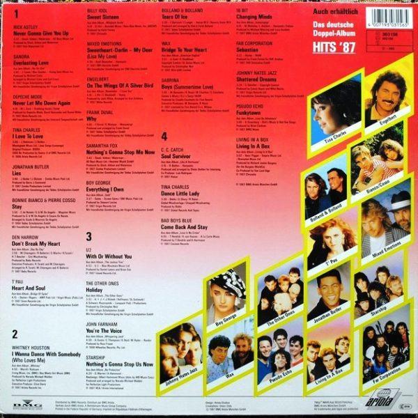 Various – Hits '87 • Das Internationale Doppelalbum
