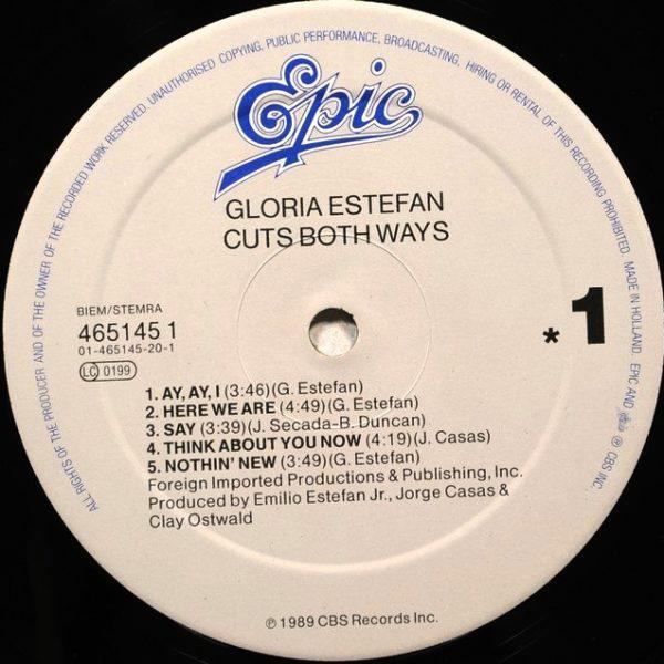 Gloria Estefan – Cuts Both Ways