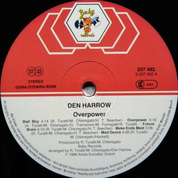 Den Harrow ‎– Overpower