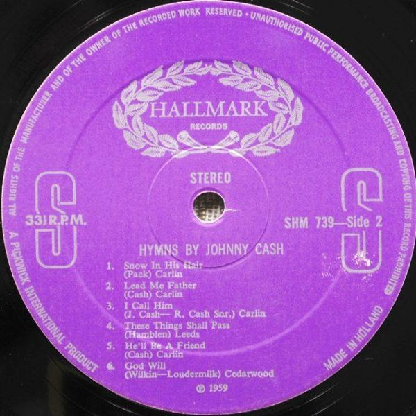 Johnny Cash – Hymns By Johnny Cash
