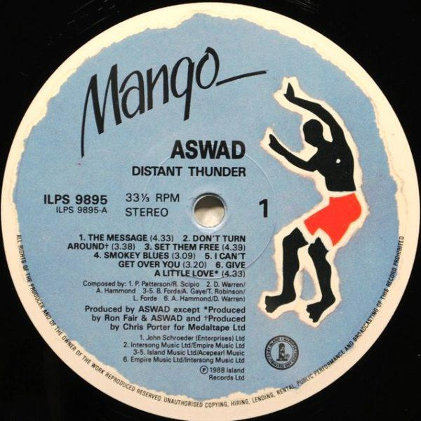 Aswad – Distant Thunder