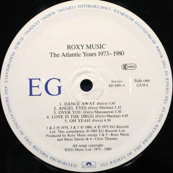 Roxy Music – The Atlantic Years 1973 - 1980