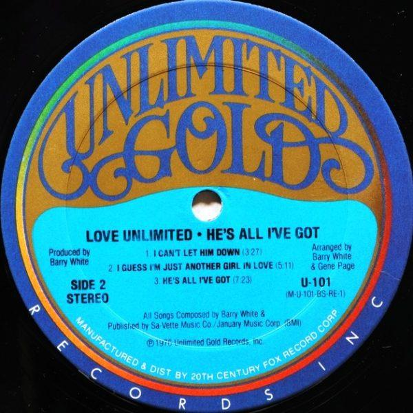 Love Unlimited ‎– He's All I've Got