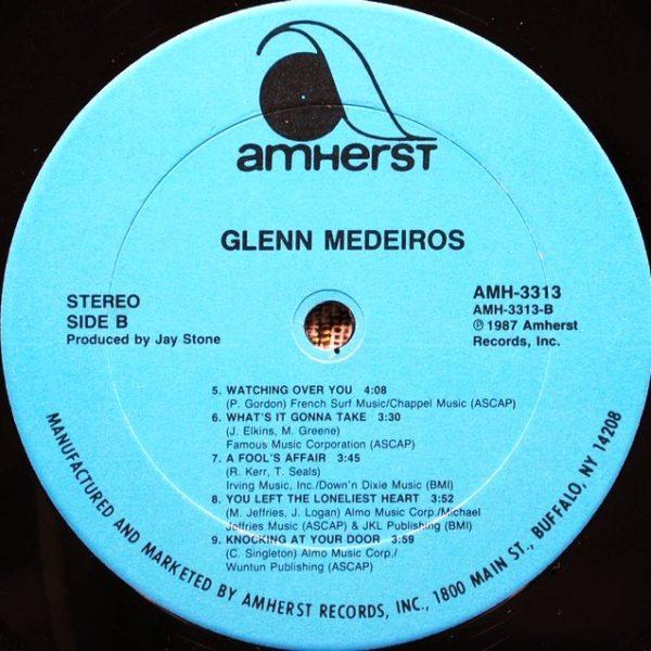 Glenn Medeiros – Glenn Medeiros