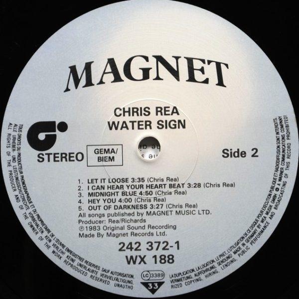 Chris Rea – Water Sign (1983)