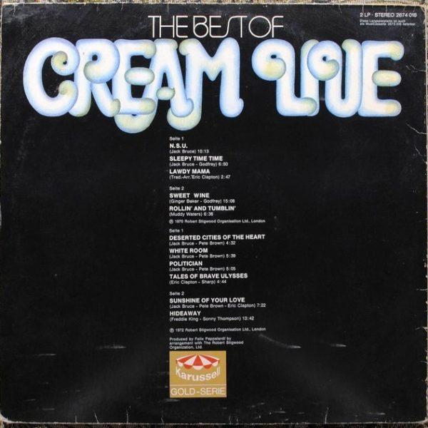 Cream – The Best Of Cream Live
