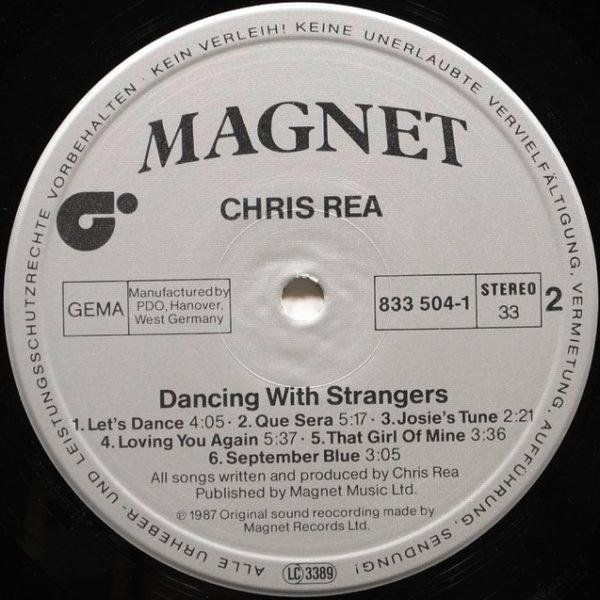 Chris Rea ‎– Dancing With Strangers
