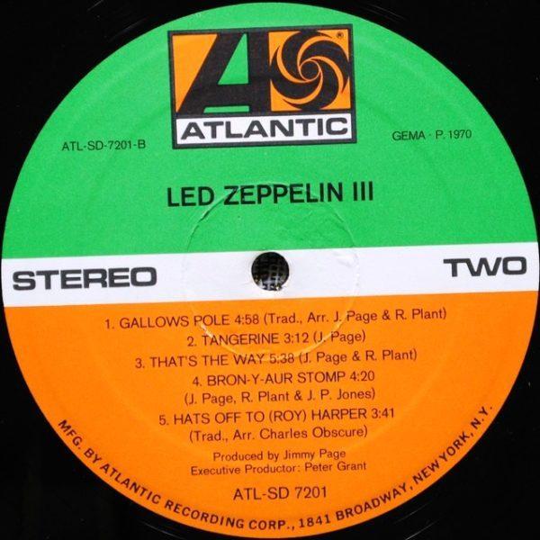 Led Zeppelin – Led Zeppelin III (1970)