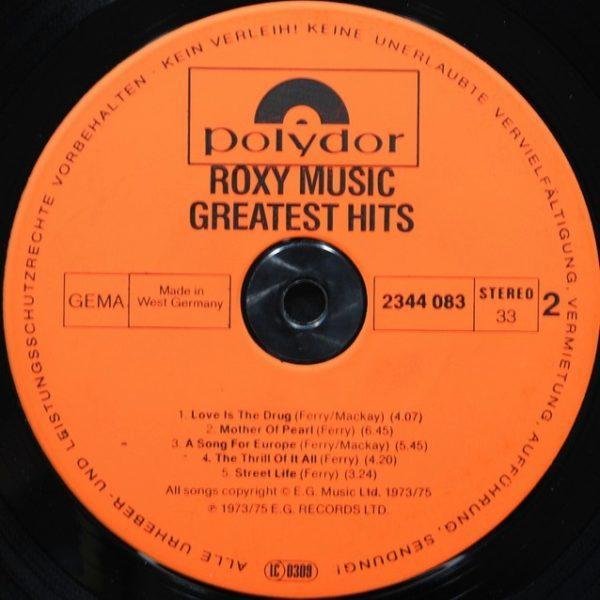 Roxy Music – Greatest Hits