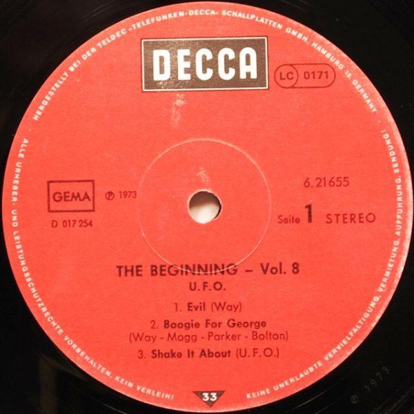 UFO – The Beginning Vol. 8