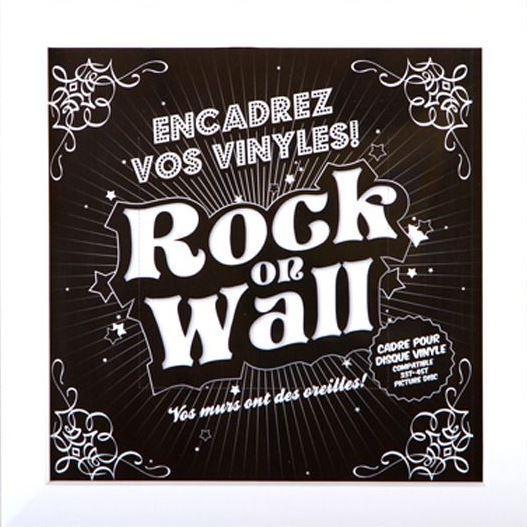 """Белая настенная рамка Rock On Wall для LP 12"""""""