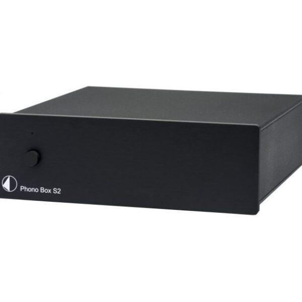 Фонокорректор Pro-Ject Phono Box S2 Black