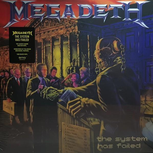 Megadeth – The System Has Failed
